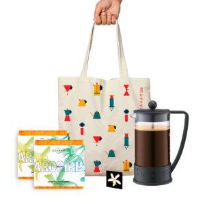 KIT CAFÉ + MERCH #5